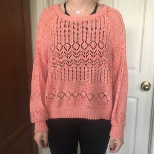 Urban outfitters peach sweater